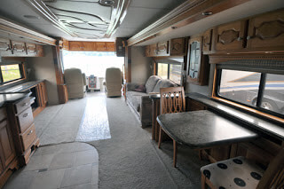RV, Coach Remodeling, Replace Cabinetry, Tile, Furniture, Upholstery