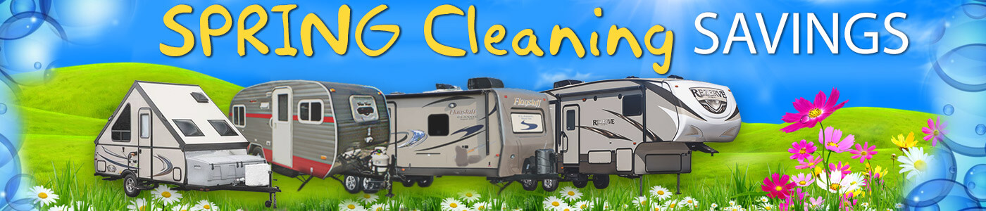 Spring Cleaning RV Sale