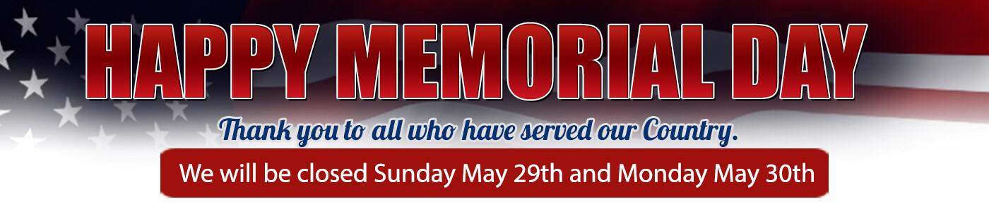 memorial hours