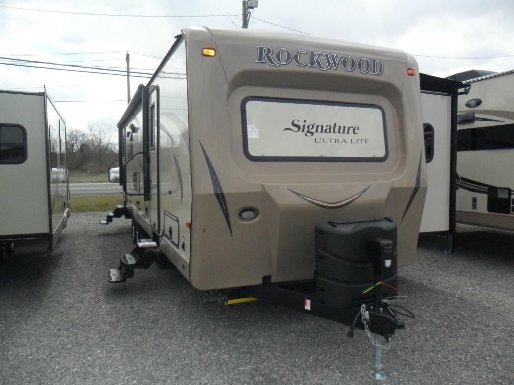 New 2016 Forest River RV Rockwood Signature Ultra Lite 8314BSS Photo