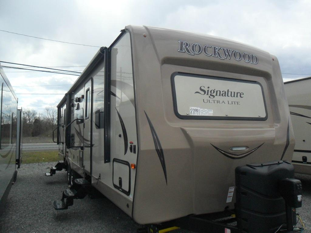 New 2016 Forest River RV Rockwood Signature Ultra Lite 8312SS Photo