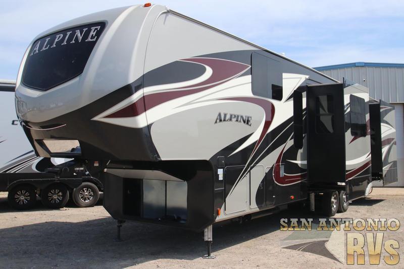 New 2019 Keystone RV Alpine 3801FK Fifth Wheel at San