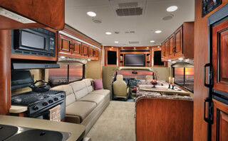 3171DS Rental RV Interior View