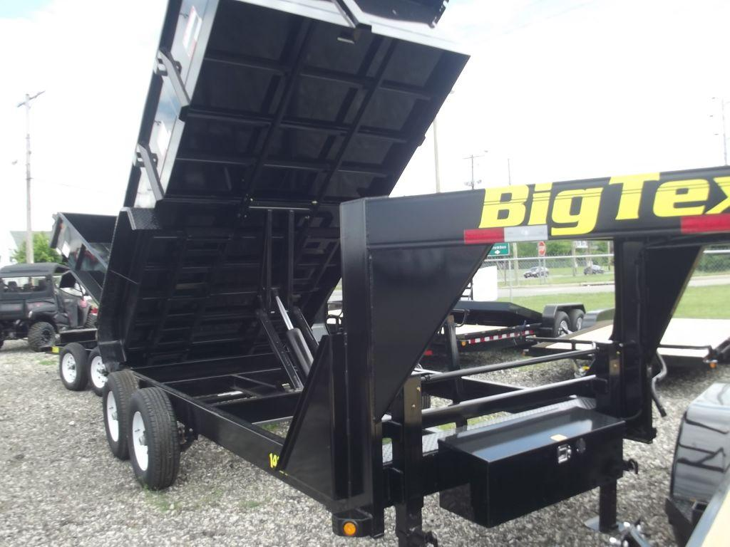 New 2015 Big Tex Trailers Big Tex 14GX14BK7SIRPD Photo