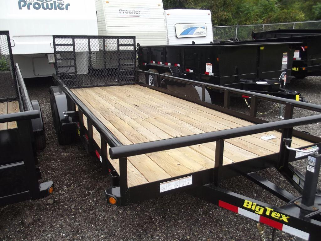 New 2015 Big Tex Trailers Equipment and Tilt Trailers 10PI-18 Photo