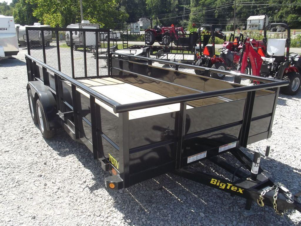 New 2015 Big Tex Trailers Tandem Axle Trailers 70TV Photo