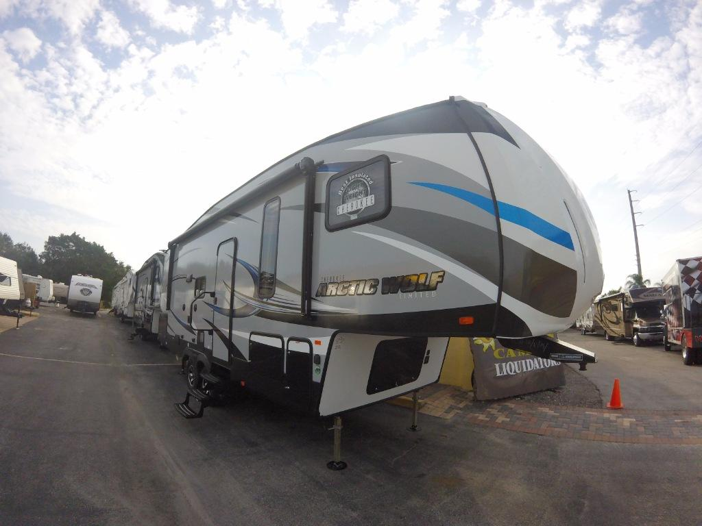 New 2017 Forest River RV Cherokee Arctic Wolf 255DRL4 Photo