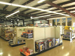 Topper's RV Parts Showroom