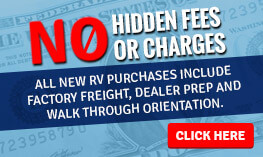 No Hidden Fees at Wilkins RV