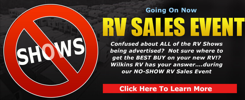 No Show RV Sale
